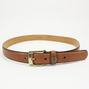 Vintage Burberrys of London Tan Leather Belt